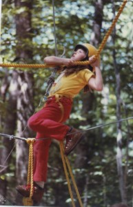 Me at camp, circa 1983 -- when it was totally cool to wear red pants and a yellow t-shirt.